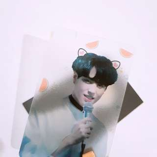Custom translucent Photocard