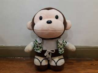 Huggable Monkey Stuffed Toy