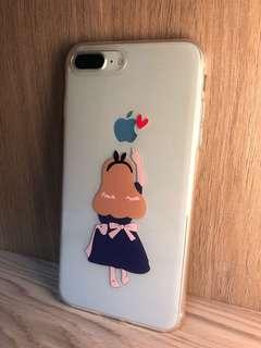 全新包邊愛麗絲與蘋果iphone 7/8 Plus Case