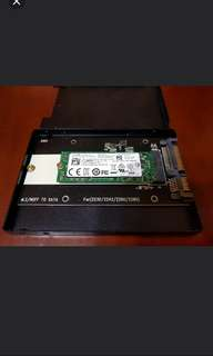 M.2 256 SSD 連 SATA Adapter