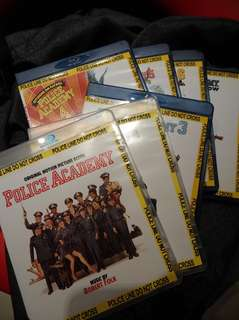 Blu-ray. Police Academy complete set (movies 1 to 7)
