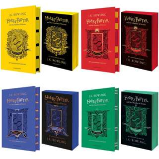NEW Harry Potter and the Chamber of Secrets Special House Edition