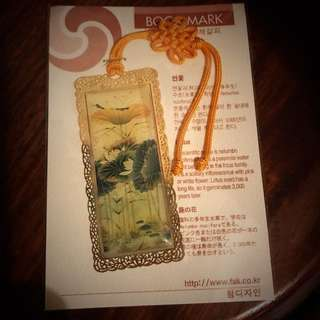 Korean traditional bookmark