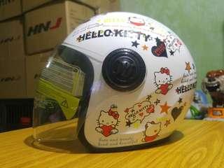 HelloKitty HNJ White Helmet!!!