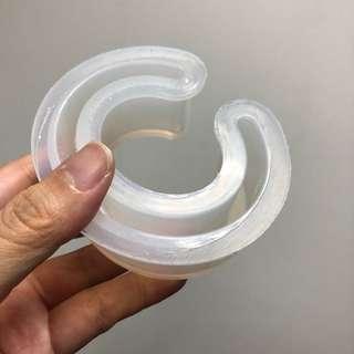 Bangle mold for resin casting