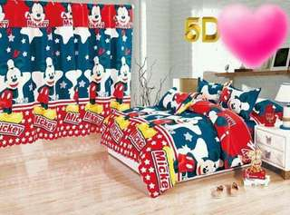 MICKEY MOUSE 5 in 1 BED SHEET SET