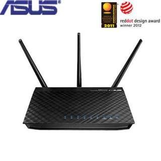 華碩ASUS RT-N66U N900 雙頻Gigabit無線路由器 (可刷DDWRT)