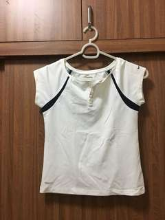 White top for workout