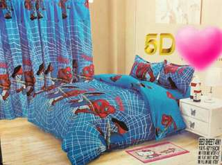 SPIDER MAN 5 in 1 BED SHEET SET