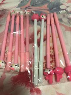 Hello kitty My Melody Pen 10 pcs