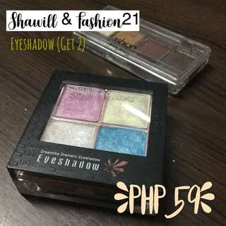 Shawill and Fashion21 Eyeshadow