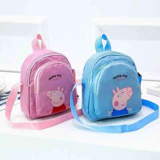 Peppa pig snack kids bag