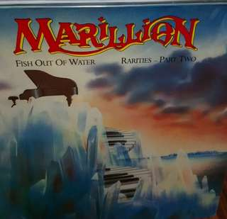 NM marillion fish out of water record vinyl prog rock