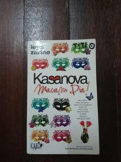 Novel Kasanova Macam Dia