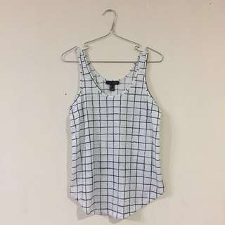 Atmosphere Checkered Top