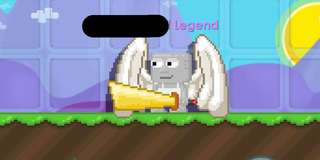 Selling Growtopia Legendary Account w/ 5 Legendary Items