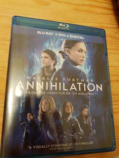 Annihilation blu-ray movie