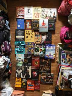 Assorted books, novels, coffetable and photography books