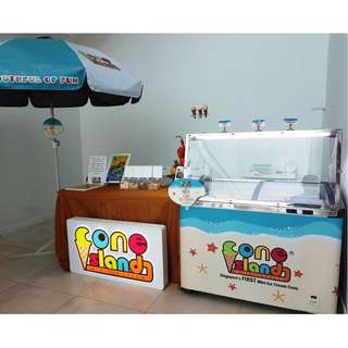 🚚 Ice Cream Cart!  Unlimited catering at your company events, wedding, parties.  Good for any occasion!