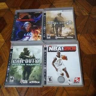 PS 3 Game Bundle