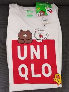 全新初代LINE X UNIQLO UT T-shirt