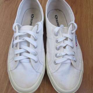 Authentic Superga Classic White