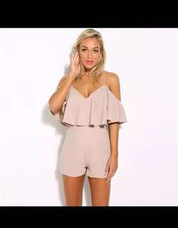 2018 new fashion summer  women solid rompers