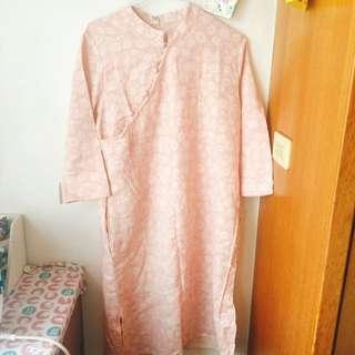 棉麻改良式洋裝