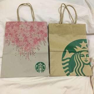 Starbucks Japan and Sakura PH Paperbags