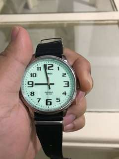 Timex indiglo analog watch
