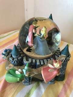 2002年Disney Sleeping Beauty睡公主音樂水晶球
