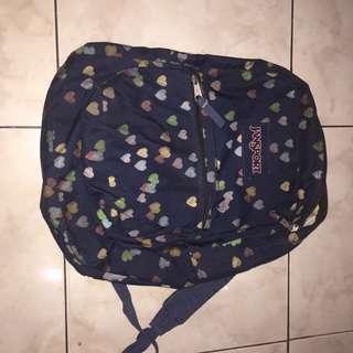 Jansport backpack heart love