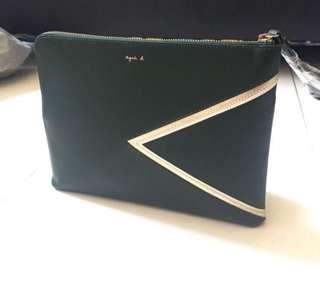 Agnes b 100% NEW leather bag