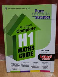 H1 Maths Textbook for A-Level