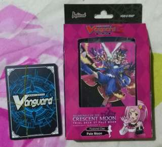 Original Cardfight Vanguard Pale Moon Trial Deck