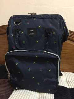 Diaper Bag Anello pattern