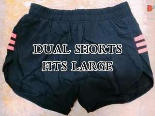 Dual Shorts (Set of 2)