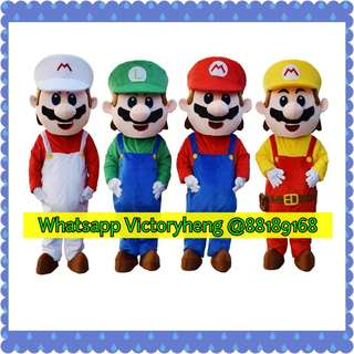 Mario Brothers Mascot for rental
