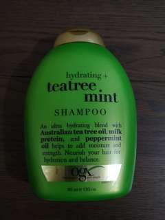 Hydrating Teatree Mint Shampoo, 385ml