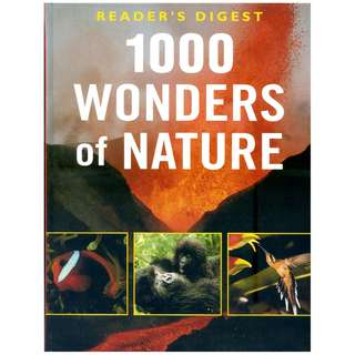 1000 WONDERS of NATURE ~ Brand New