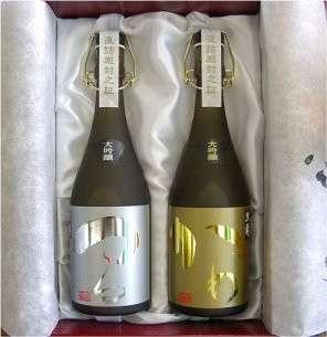 日本清酒 黑龍 大吟釀 (限定品。禮盒孖庄)
