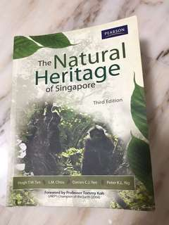 SSS1207 The Natural Heritage Of Singapore