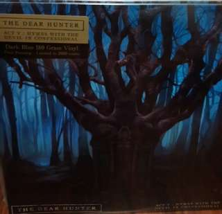 Sealed the dear hunter act V hymns with the devil Ltd blue 2000 first press record vinyl prog rock