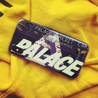 Palace Credit Card Phone Case For iPhone 7/8/X