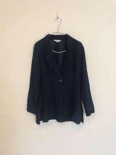 🚚 日本製寬版薄料西裝外套/無墊肩