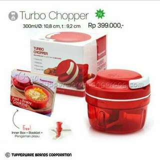 Turbo chopper tupperware salee