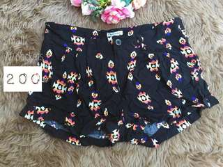 Forever 21 Boho Cotton Shorts
