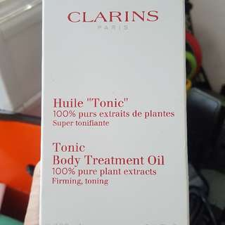 BN Clarins Tonic Body Treatment Oil