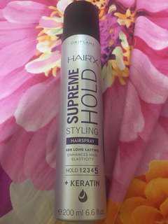 Hairspray (HairX Supreme Hold Styling)