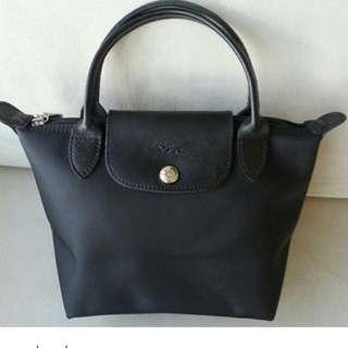 徵.徵.徵Longchamp mini black